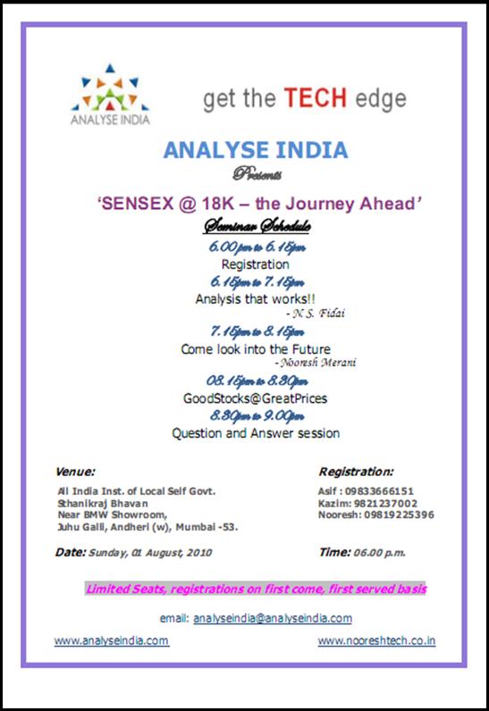 Mumbai Seminar Invite