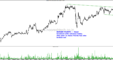 Technical Charts–Bajaj Electricals, Tata Sponge, Ucal Fuel, Larsen & Toubro, Berger Paints and Bharat Forge